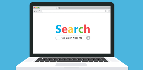 Google my business hair salon