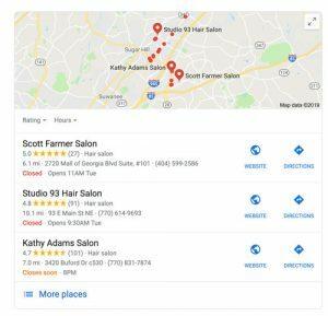 hair salon buford-ga google search