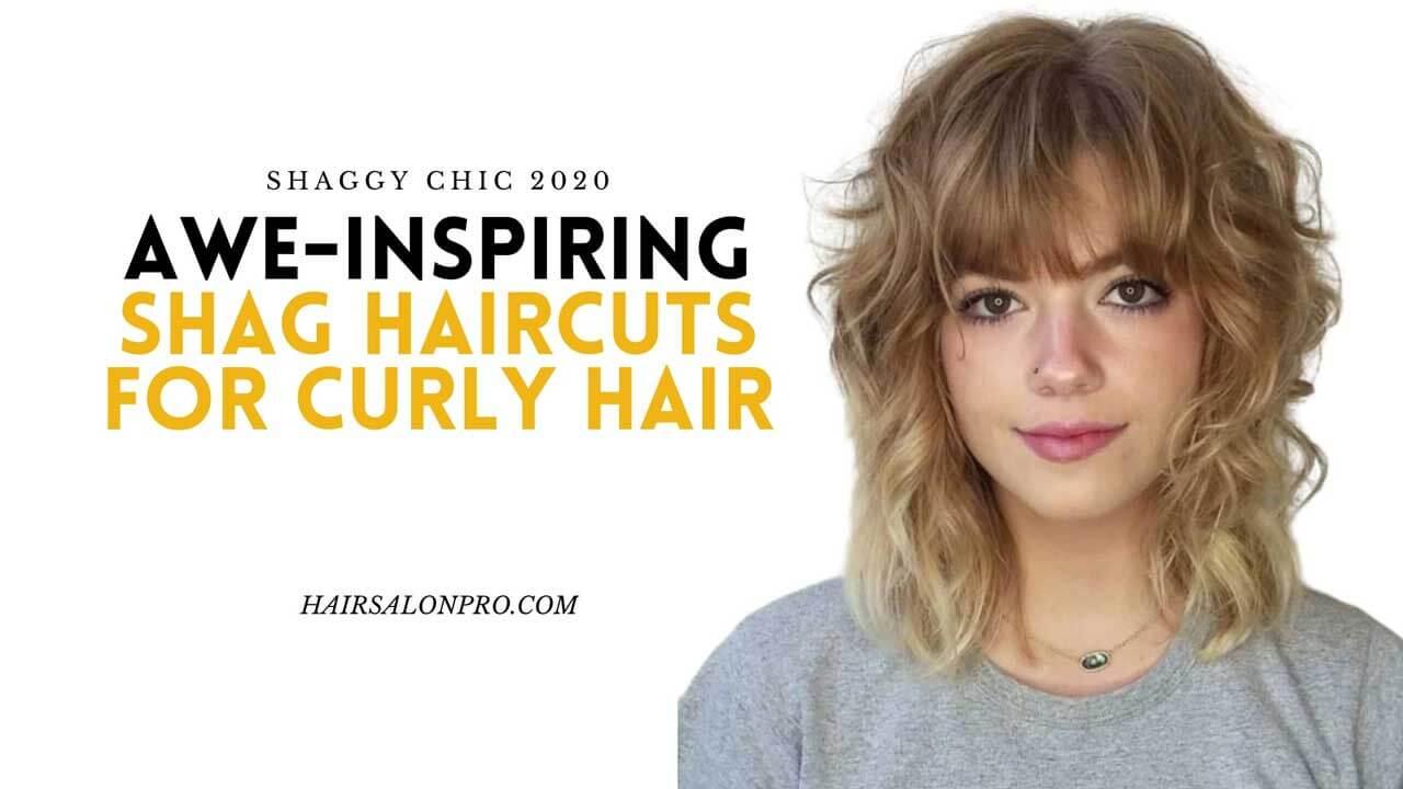 Shag Haircuts For Curly Hair