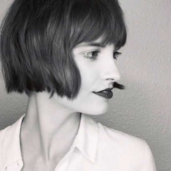 french bob haircut